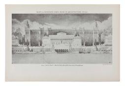 [ARCHITECTURE & DESIGN]. -- SOCIETY OF BEAUX-ARTS ARCHITECTS.  Winning Designs 1904-1927. Paris Pri