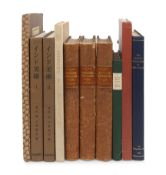 [INDIAN & SOUTHEAST ASIAN ART]. A group of 8 works in 10 volumes, including: