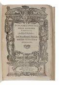BUONAMICI, Francesco (1533-1603). Discorsi Poetici Nella Accademia Fiorentina In Difesa d ' Aristoti