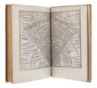 DANTE Alighieri (1265-1321). Dante col sito, et forma dell'inferno tratta dalla istessa descrittione