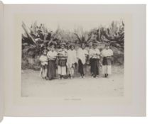 STARR, Frederick (1858-1933). Indians of Southern Mexico. An Ethnographic Album. Chicago: N.p., 1899