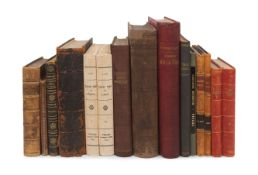 [CHINA -- TRAVEL & EXPLORATION]. A group of 13 works in 15 volumes, including: