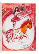 CHAGALL, Marc (1887-1985), illustrator. -- PREVERT, Jacques (1900-1977).  Le Cirque D 'izis. Monte
