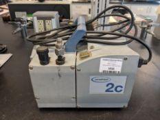 Vacuubrand Model MZ 2C NT Chemistry Diaphragm Pump
