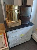 4-Drawer Laboratory Cabinet