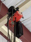 CM ProStar 1,000 lb. Capacity Electric Chain Hoist with 2-Button Pendant