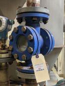 """Ilmadur DIN 7080-16 2-1/2"""" Process Control Sight Glass"""