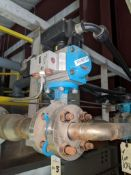 InterApp Pneumatic Actuated Butterfly Valves