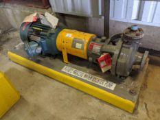 Flowserve Model MK3STD 10 HP Centrifugal Pump