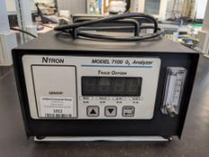 Ntron Model 7100P-CE Portable Oxygen Analyzer