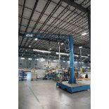 Gorbel/Erdman Jib Crane With Suction Lift System