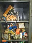 Storage Cabinet Plus Contents