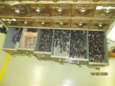 Parts Carousel Caddy & Cabinet