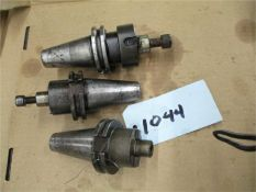 40 Taper Shell Mill Holder, 3 pcs., short