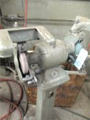 Pedestal Grinder with Small Grinding Stones