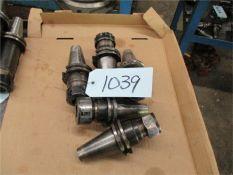 40 Taper ER32 Collet Holders, 5 pcs. standard length