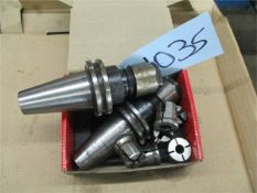 Rigid Tapping Collets and Holders, 2 pcs.