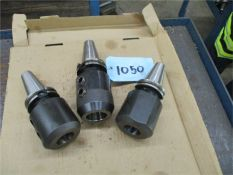 40 Taper End Mill Holders, 3 pcs., large