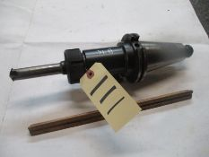 Taper 50 Collet Holder with Chamfer Tool