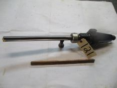 Taper 50 Taper Holder with Spade Drill and Coolant Ring