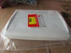 100 x Hand Held Instrument Case Enclosure, ABS Grey 221x161.5x30mm H9MR8 7743739
