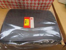 100 x Instrument Case Enclosure, ABS, Black, 322 x 232 x 30mm - 7743760