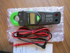 10 x ISO-TECH ICM A9 Clamp Meter, AC/DC Tester Max 600A ac CAT III 600V