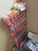 Quantity of Batteries (C and D Cell) - around 370 batteries in total