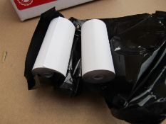 100 Rolls of Thermal Paper, 57mm wide, 28mm dia -THP-300 A8 6715890