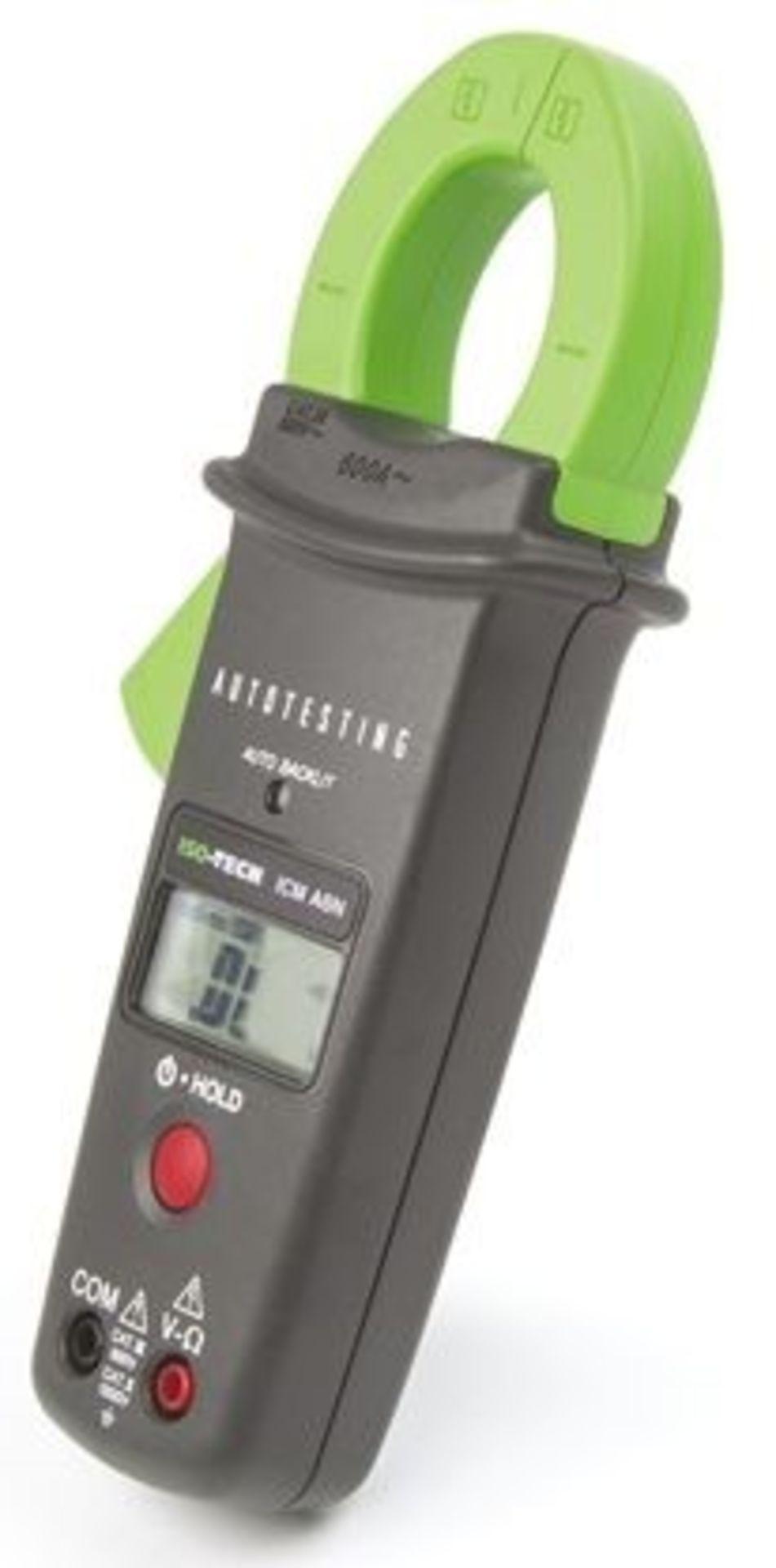 ISO-TECH ICMA6 Clamp Meter, Max Current 600A ac CAT II 1000 V CAT III 600 V