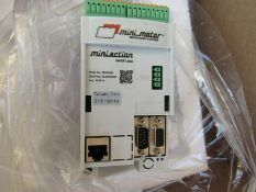 Mini Motor Inverter Drive 3-Phase 0.75kW 230Vac 10A MINIACTION 500 BCL1 1817034