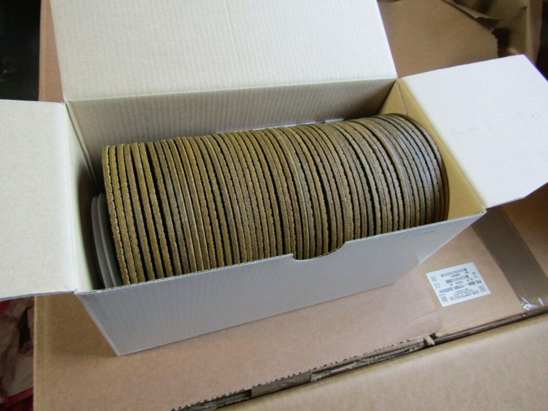 BOX of 50 x 3M Cubitron II Ceramic Grinding Wheel 115mm Dia P80 Grit 3m 01793495 - Image 2 of 3