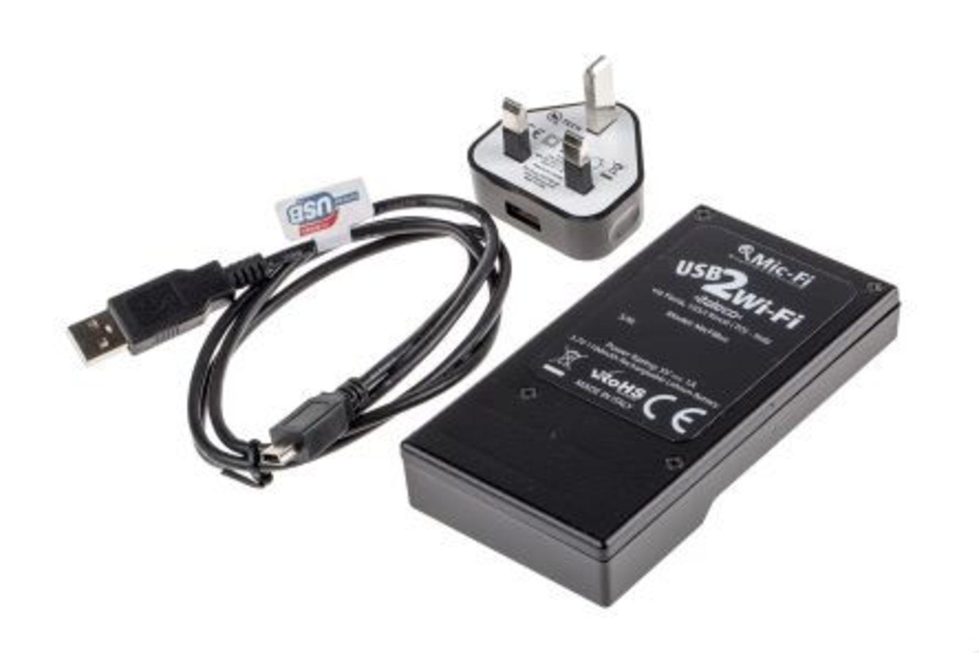 Wi Fi Digi box streamer USB-Wi-Fi - Microscope / Endoscope / Eyepiece Camera - Image 2 of 2