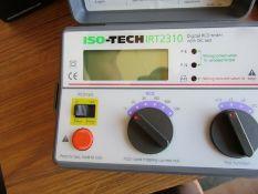 ISOTECH IRT 2310 Digital RCD Tester 500mA + DC Test DC CAT III 300V J11 7127036
