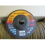 BOX of 50 x 3M Cubitron II Ceramic Grinding Wheel 115mm Dia P80 Grit 3m 01793495