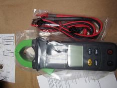 ISO-TECH ICM135R Clamp Meter, Max Current 600A ac CAT III 600V S4 6973957