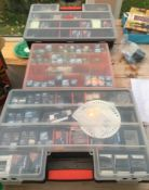 Large Lot of Watchmakers New and Unused Watch Batteries - Renata - Maxell etc.