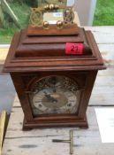 "Garrard London Bracket Fusee Clock (Elliot Bros) 18"" x 9 1/2""."