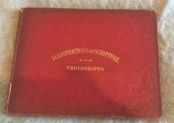 Illustrations of Scripture - Photographs - by an Animal Painter - Constable Edinburgh 1854.
