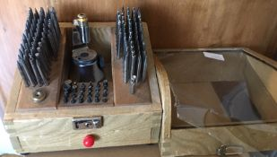 Vintage Made In Japan Watchmakers Staking Machine.