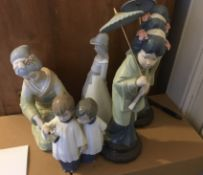 Lot of Lladro - Nao and Spanish Figures.