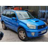 03/52 Toyota Rav4 D-4D GX - 1995cc 5dr Estate (Blue, 147k)