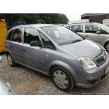 07/07 Vauxhall Meriva Life Twinport (170k)