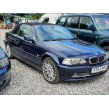 01/Y BMW 330CI - 2979cc 2dr Convertible (Blue, 164k)