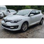 16/16 Renault Megane Dynamique Nav DCI - 1461cc 5dr Hatchback (White, 76k)