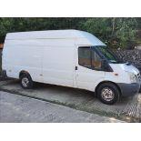 10/60 FORD TRANSIT 115 T350L RWD - 2402cc 2dr Van (White, 192k)