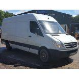 07/57 MERCEDES SPRINTER 313 CDI LWB - 2148cc 5dr Van (White, 153k)