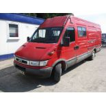 04/54 IVECO DAILY 35S12 LWB - 2300cc 5dr Van (Red, 132k)
