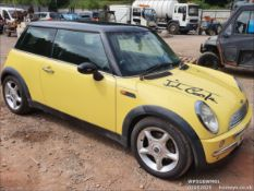 01/51 MINI MINI COOPER - 1598cc 3dr Hatchback (Yellow, 134k)