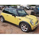 01/51 MINI MINI COOPER - 1598cc 3dr Hatchback (Yellow, 134k)